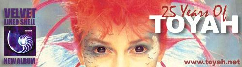 Click here to buy Toyah's album VELVET LINED SHELL - A Christmas gift your friends will treasure.
