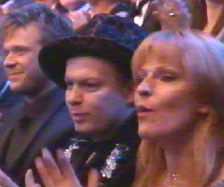 [ Toyah & John in 'Avenue Of Stars' audience ]