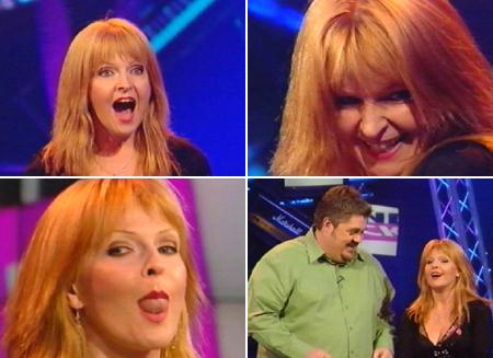 [ Toyah on Never Mind The Buzzcocks ]