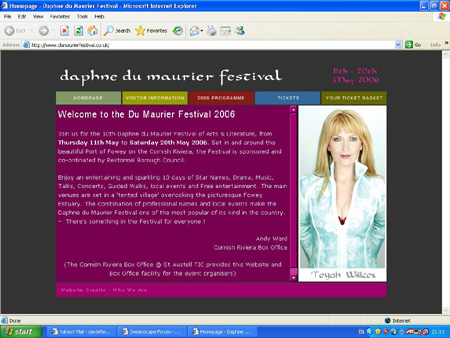 [ An Audience with Toyah Willcox - 11th May 2006 - Daphne Du Maurier Festival 2006 ]