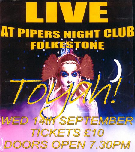 [ Pipers Toyah poster ]