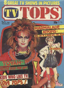 [ TV Tops - 15th Jan 1983 - Thanks to Kev Tucker - Click to zoom ]