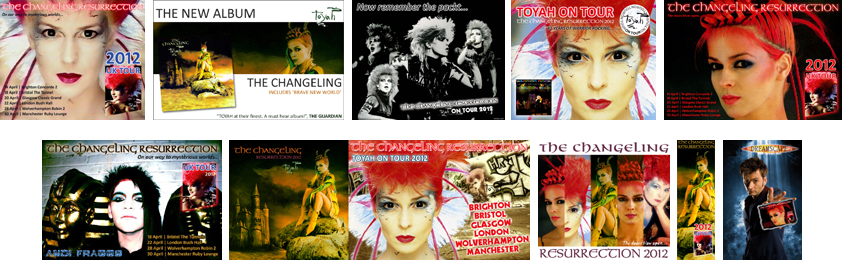 Adverts by Dreamscape | Toyah.Net / Doctor Who by Andrew York